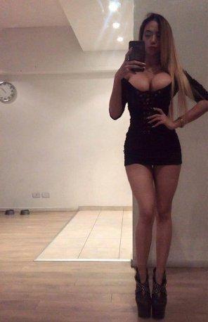 Never Boobs tight dress