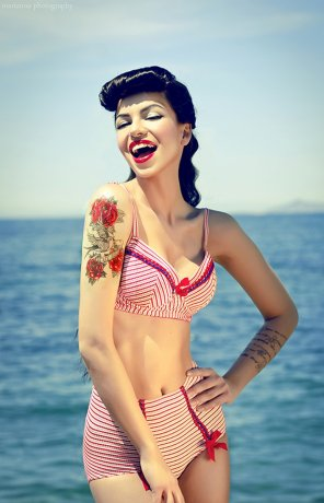 amateur photo Pinup girl