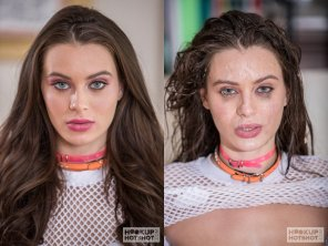 amateur photo Lana Rhoades before and after