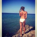 amateur photo sexy back on croatian