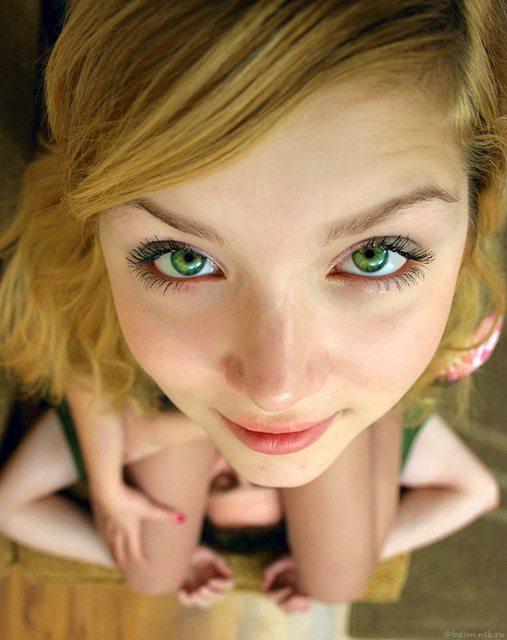 Зелёные глаза порно