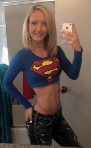amateur photo Super Woman