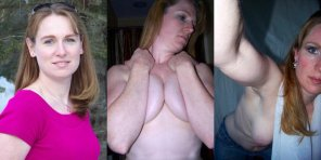 amateur photo Ginger Milf progression