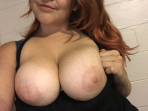 amateur photo are they too big?? [f]