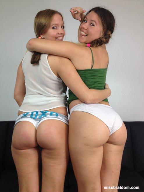 Booty x 2 Porn Photo