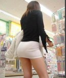 amateur photo Going shopping