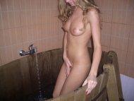blonde Russian girl