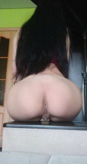 amateur photo Ooops! I [f]orgot my panties somewhere :)