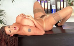 amateur photo Linsey Dawn Mckenzie playing with her nipples