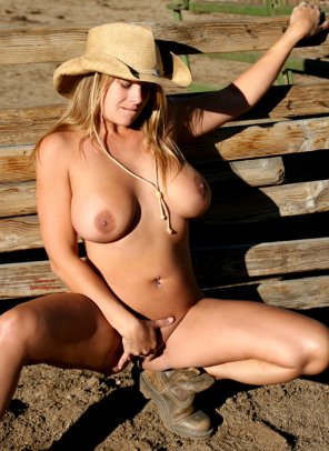 amateur photo Cowgirl Alone Time