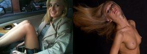 amateur photo Ukrainian blonde