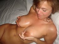 Hot milf in bed