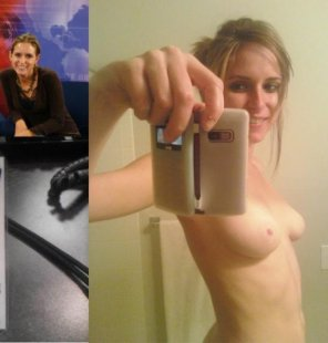 amateur photo News Girl