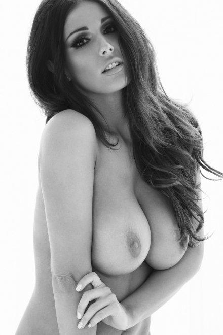 Black and white boobs Porn Photo