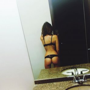 amateur photo Selfie From Behind