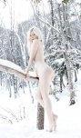 amateur photo As white as snow!