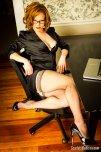 amateur photo Sexy secretary