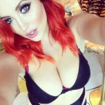 amateur photo Lucy Collett behind the scenes at Zoo photoshoot