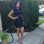 amateur photo tight black skirt