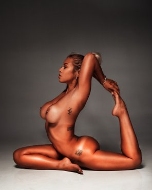 amateur photo Fantastic flexibility