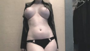 amateur photo Jacket and Underwear