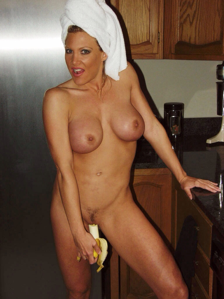 Milf and banana