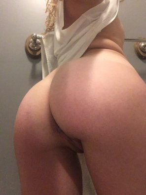 amateur photo Towel rack