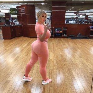 amateur photo Gym booty