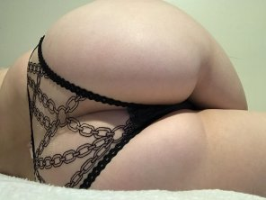 amateur photo Something About Mesh Over Soft [F]lesh
