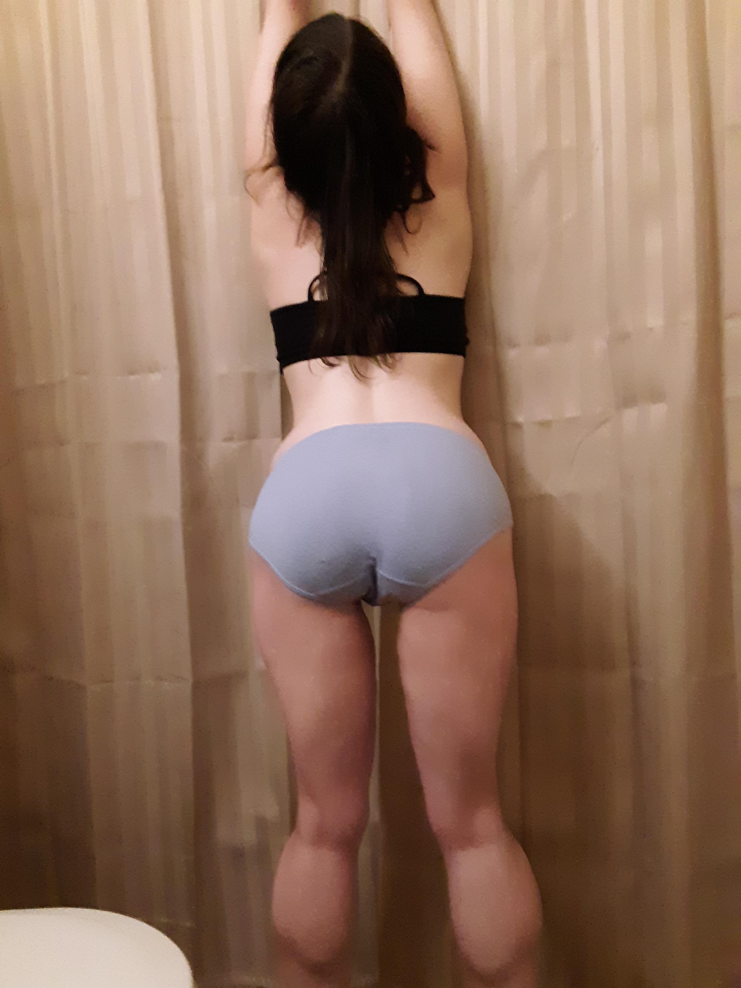 Teen Twerking The Shower