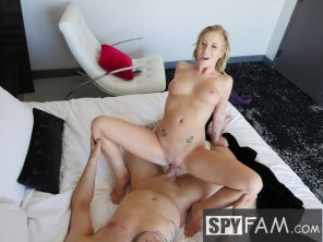 amateur photo Blonde step daughter fucked and creampie