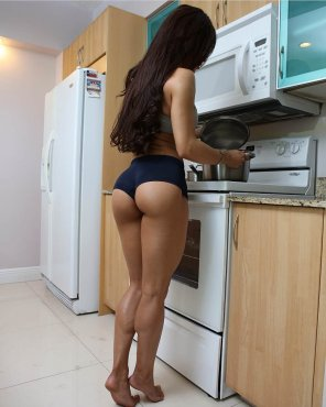 amateur photo A vision of perfection in the kitchen