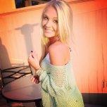 amateur photo Smiling blonde