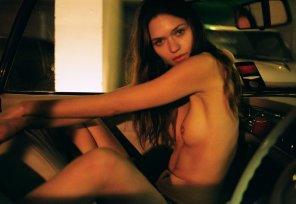 amateur photo Yana Sotnikova in Polanski Magazine