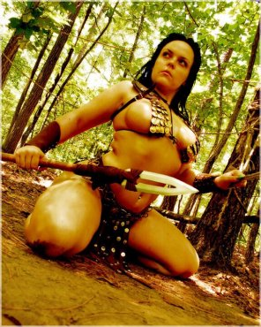 amateur photo Gorgeous Warrior