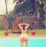 amateur photo Randalin in a thong