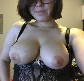 amateur photo Did you miss my tits?