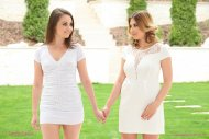 Sensual lesbian lovemaking by Ayda Swinger and Liza Shay