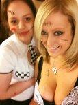 amateur photo Halloween cleavage