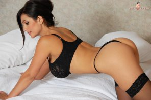 amateur photo Denise Milani