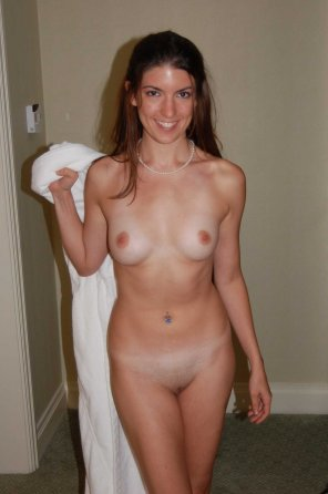 amateur photo Off with the towel
