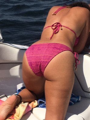 amateur photo wife loves the boat