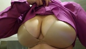 amateur photo Bursting out at work. Anyone recognize?😘