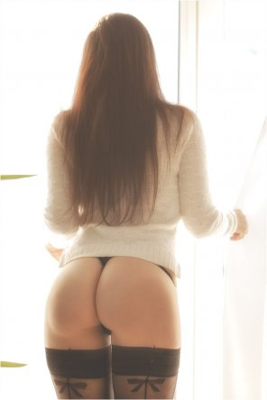 amateur photo Honey you look great from behind
