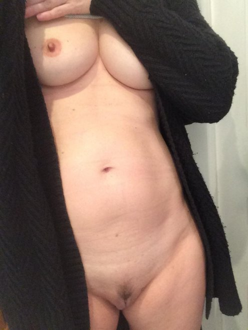 Comfy and warm sweater, it's gotten colder over here Porn Photo
