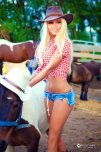 amateur photo Cow girl