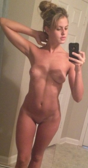 amateur photo Hair Up, Clothes Off.