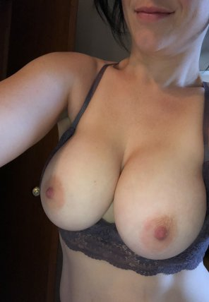 amateur photo Thanks for making my nipples hard
