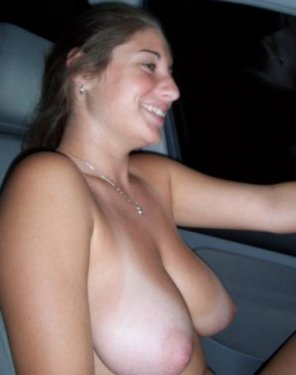 amateur photo Girl With Tanlines On Her Tits