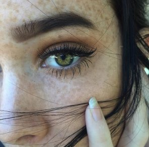 amateur photo Green Eyes